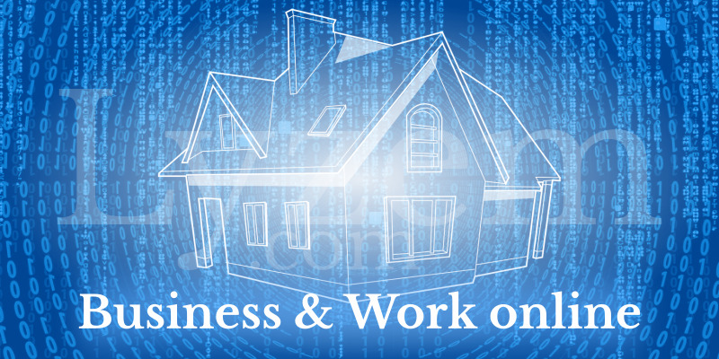 Business and work online